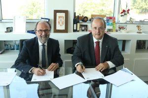 Il Rettore Dino Mastrocola e l'avvocato Tommaso Navarra
