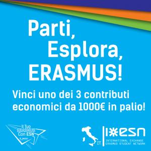"""Concorso """"Il tuo Erasmus con ESN"""""""