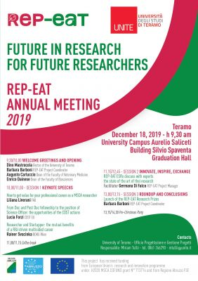 Rep-Eat Annual Meeting 2019 at UniTE: Future in Research For Future Researchers