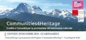 Communities4Heritage - Guardiagrele Wiki