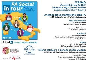 PA Social In tour