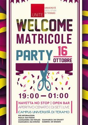 Welcome matricole